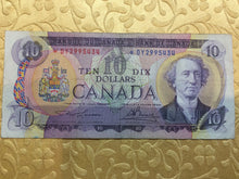 1971 Bank of canada 10 Dollars Lawson Bouey Replacement Note Serial: *DY2995434