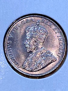 1924 Canada Five Cents Nickel Georges V MS-63 - Trade your coins