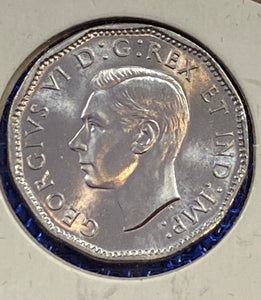 1944 CANADA Steel George VI MS-64