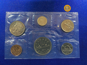 1977 Canada Nickel Prooflike Uncirculated Coin Set