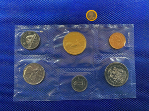 1993 Canada Nickel Prooflike Uncirculated Coin Set