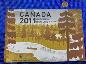 2011 Canada Nickel Prooflike Uncirculated Coin Set