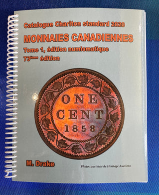 2020 CANADIAN COINS VOLUME ONE, NUMISMATIC ISSUES ,73ND EDITION