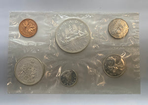 1961 Canada Uncirculated Silver coin set