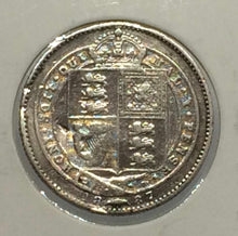1887 Great Britain Shilling