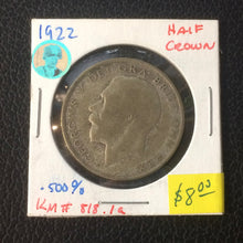 1922 United Kingdom Half Crown George V Silver Coin - Lot-259 - Trade your coins