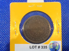 1812 Half Penny Token BR 963 NS-19aB-Lot:335 - Trade your coins