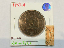 1853 A France Napoleon III Mint state KM#771.1 - Trade your coins
