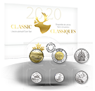 2020 Canada Nickel Prooflike Uncirculated Coin Set