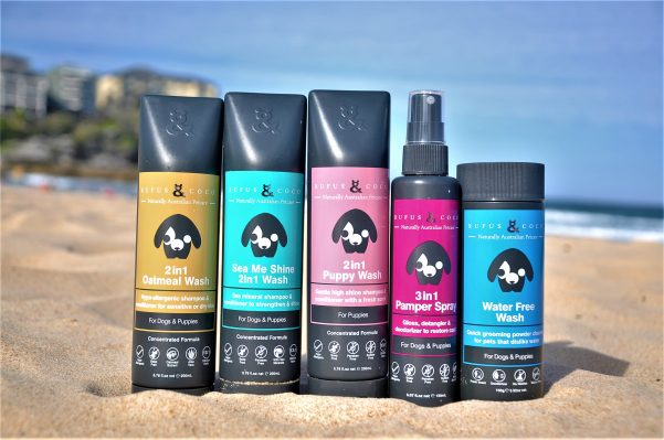 New to PetSmart - Aussie Dog Grooming Range – Rufus & Coco