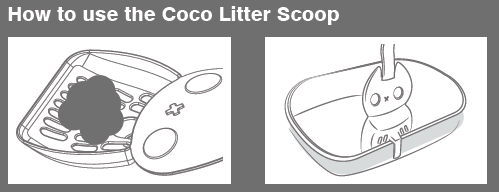 How to use a cat litter scoop