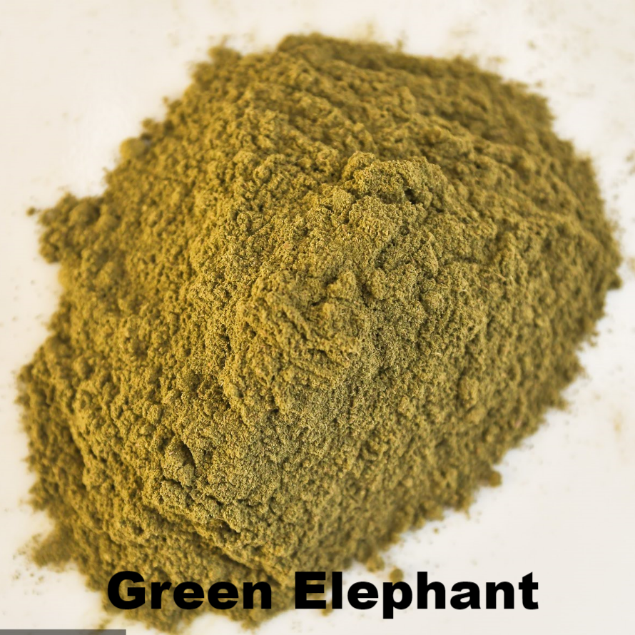 Green Elephant - Kratom Powder - East Side Kratom