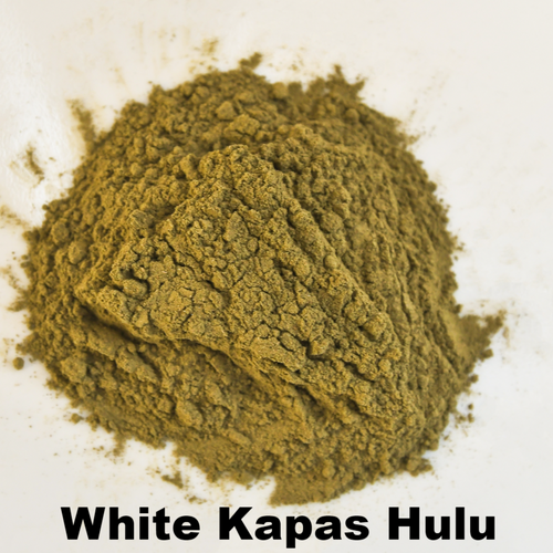 White Kapas Hulu - Kratom Powder - East Side Kratom