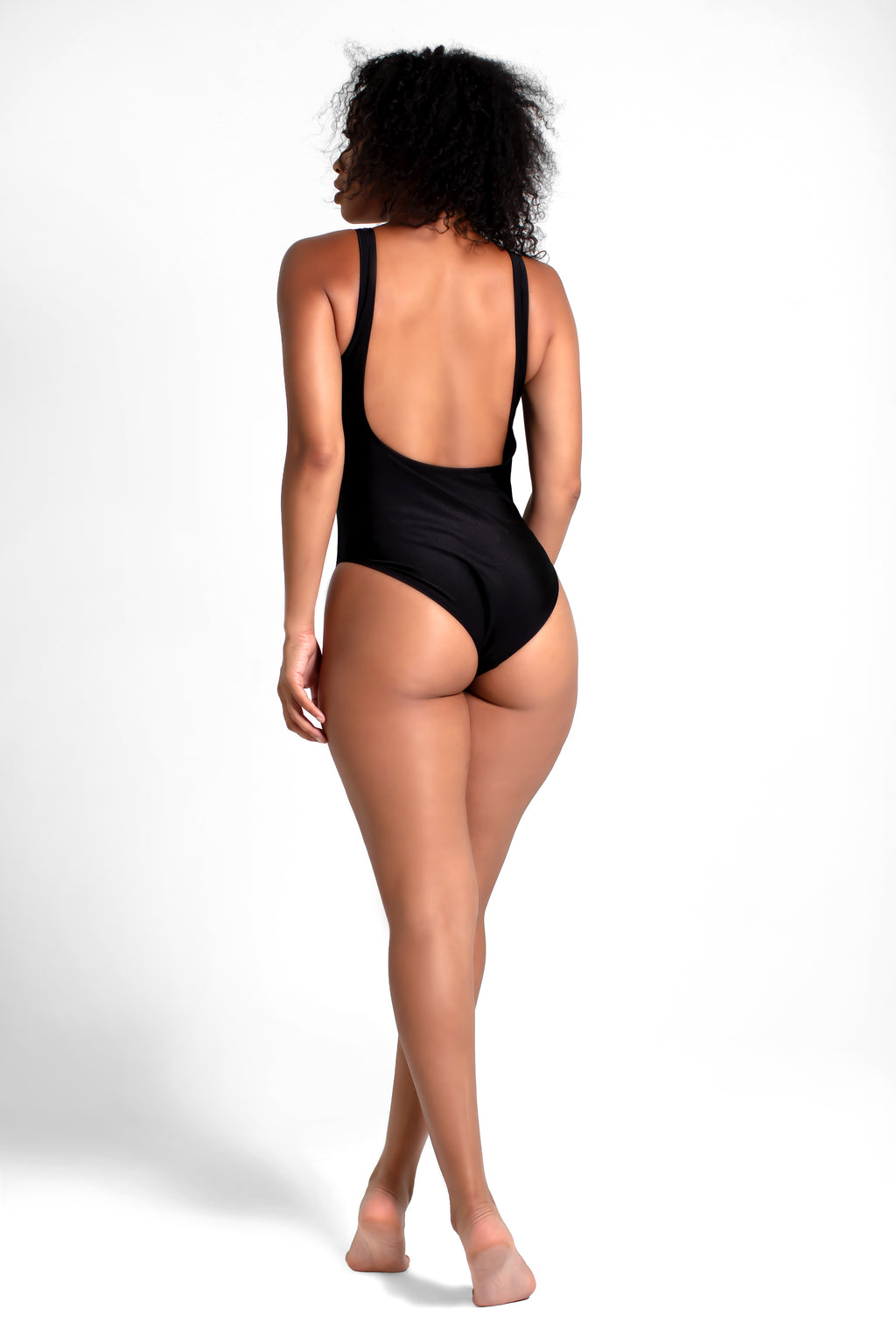 Slay One Piece Swim Black