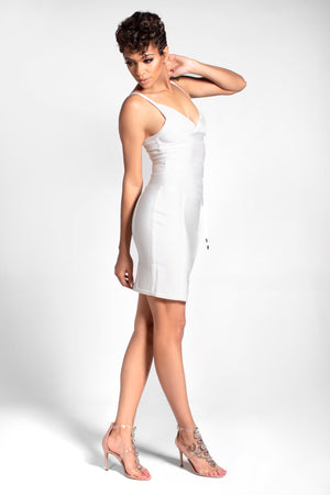 Smooth Sailor Strappy Bandage Dress