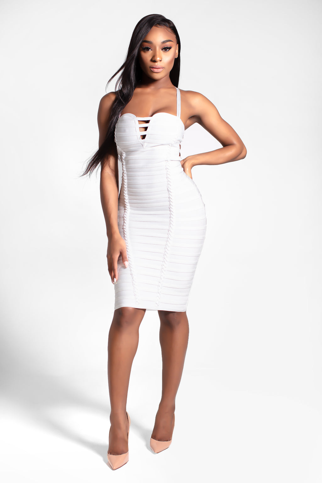 Trainwreck Strappy Bandage Dress