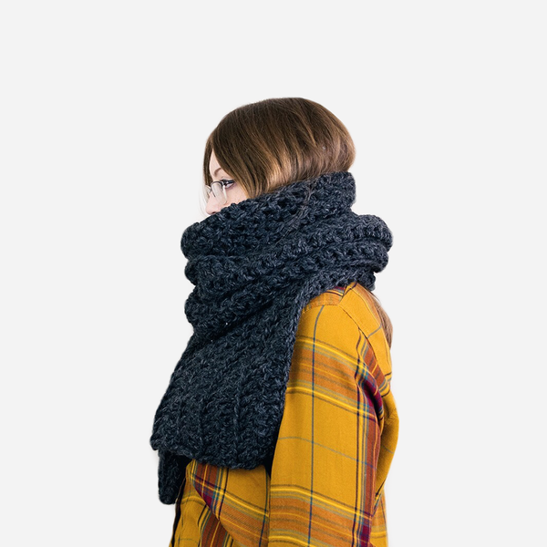 CROCHET PATTERN ⨯ The Manhattan Classic Scarf - Northmor