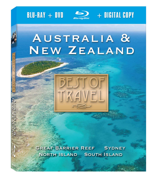 Australia & New Zealand Blu-ray Plus Combo Pack