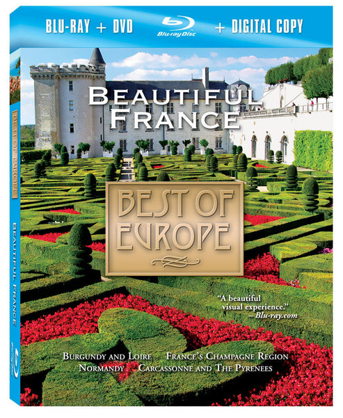 Beautiful France Blu-ray Plus Combo Pack