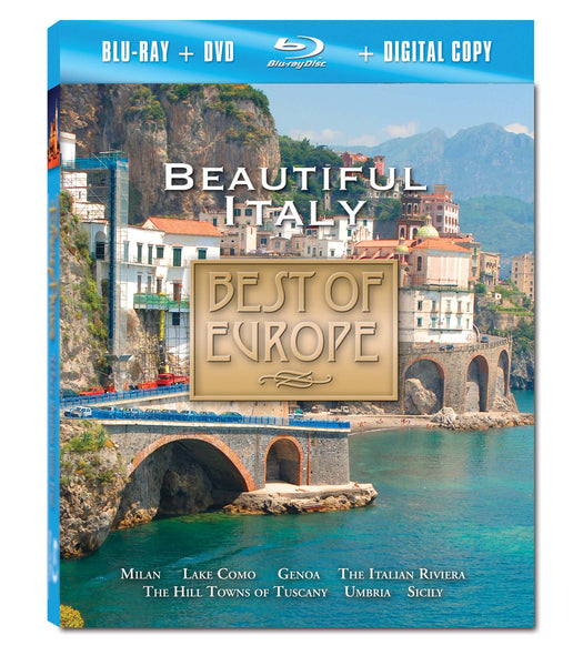 Beautiful Italy Blu-ray Plus Combo Pack