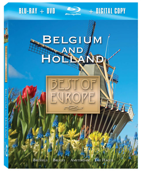 Belgium and Holland Blu-ray Plus Combo Pack
