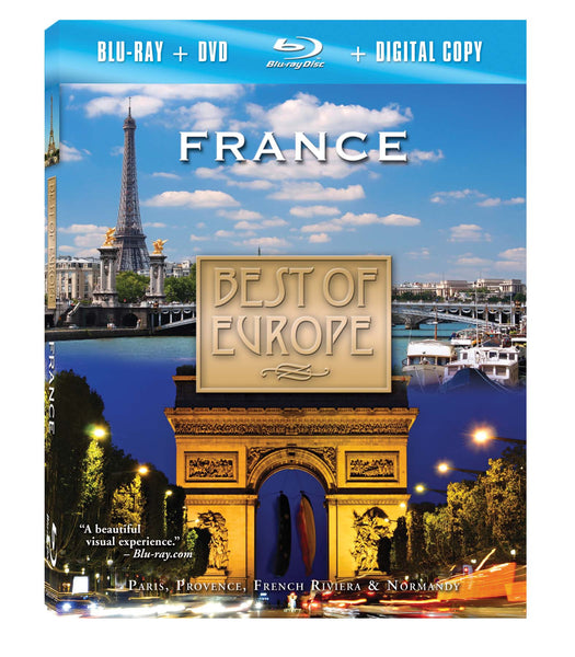 France Blu-ray Plus Combo Pack