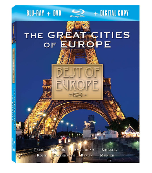 The Great Cities of Europe Blu-ray Plus Combo Pack
