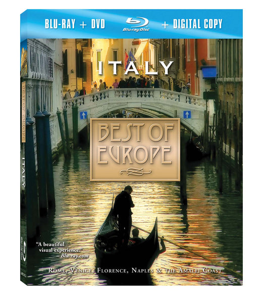 Italy Blu-ray Plus Combo Pack