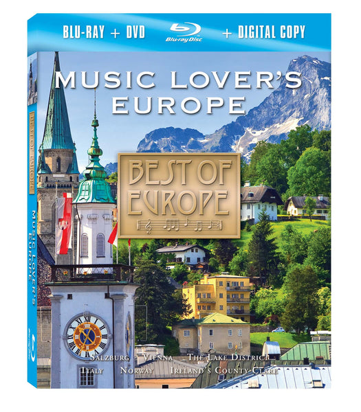 Music Lover's Europe Blu-ray Plus Combo Pack