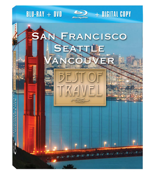 San Francisco, Seattle, and Vancouver Blu-ray Plus Combo Pack