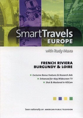 French Riviera, Burgundy & Loire