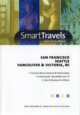 San Francisco, Seattle, Vancouver & Victoria, BC