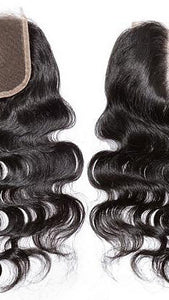 Closures 4x4 inch Body Wave