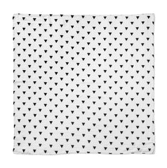 Cotton & Bamboo Baby Muslin swaddle (triangle )No. 17