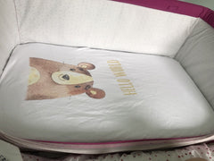 Customized Next 2 me/Next To Me Crib Sheets- Choose Your Own Photo CHERISH LEWIS
