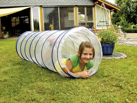 Kriechtunnel transparent 155 cm