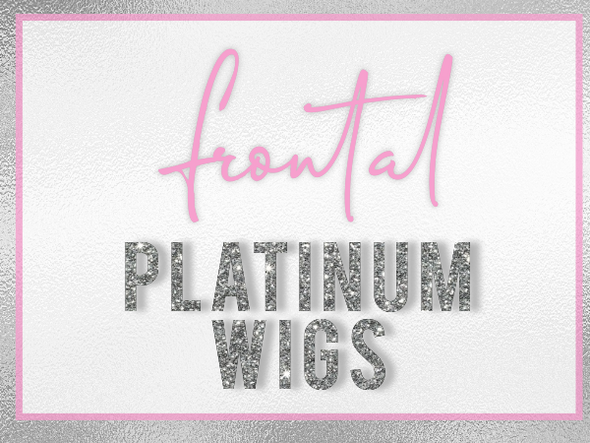 Platinum Frontal Wigs