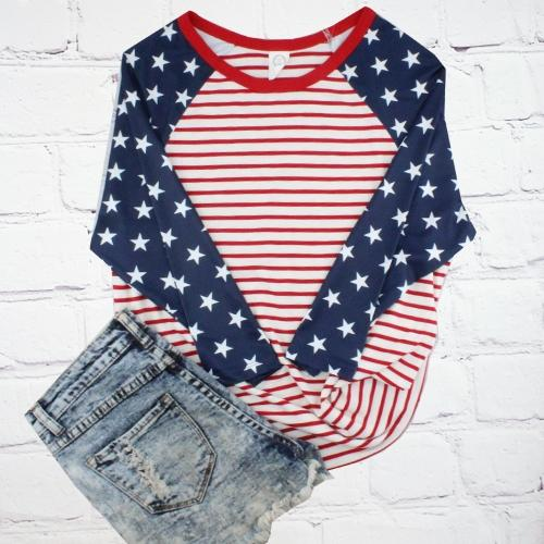 The Stars & Stripes Raglan Tee