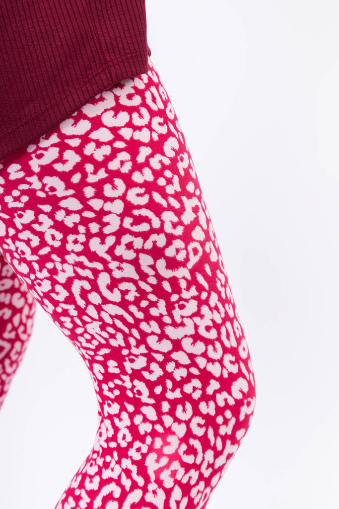 Pinky on the Wild Side Adult Leggings
