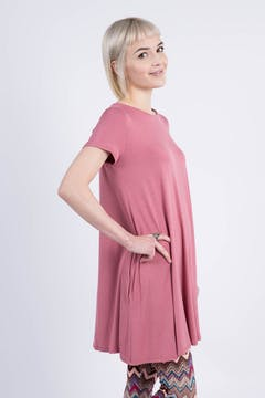 Swing Tunic Soft Mauve