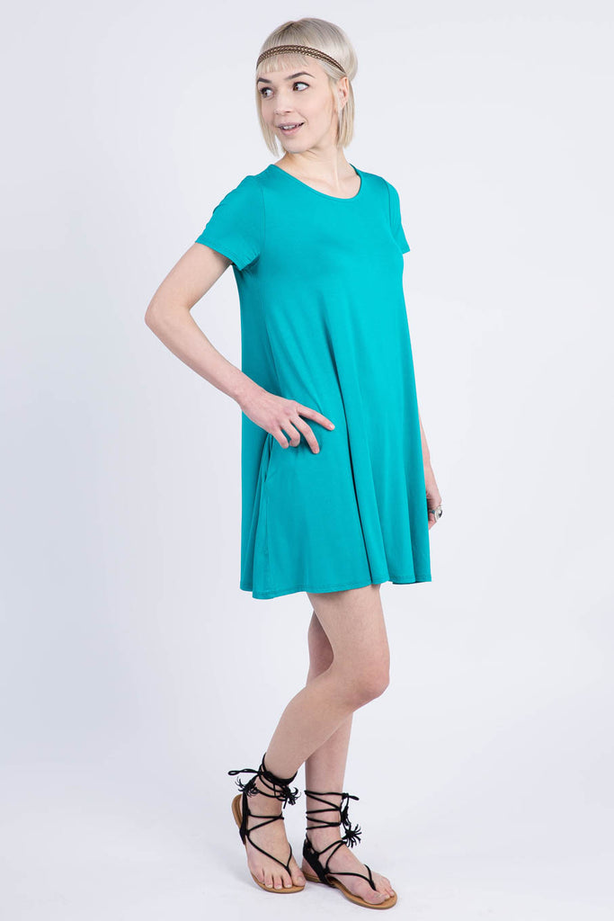 Swing Tunic in Jade