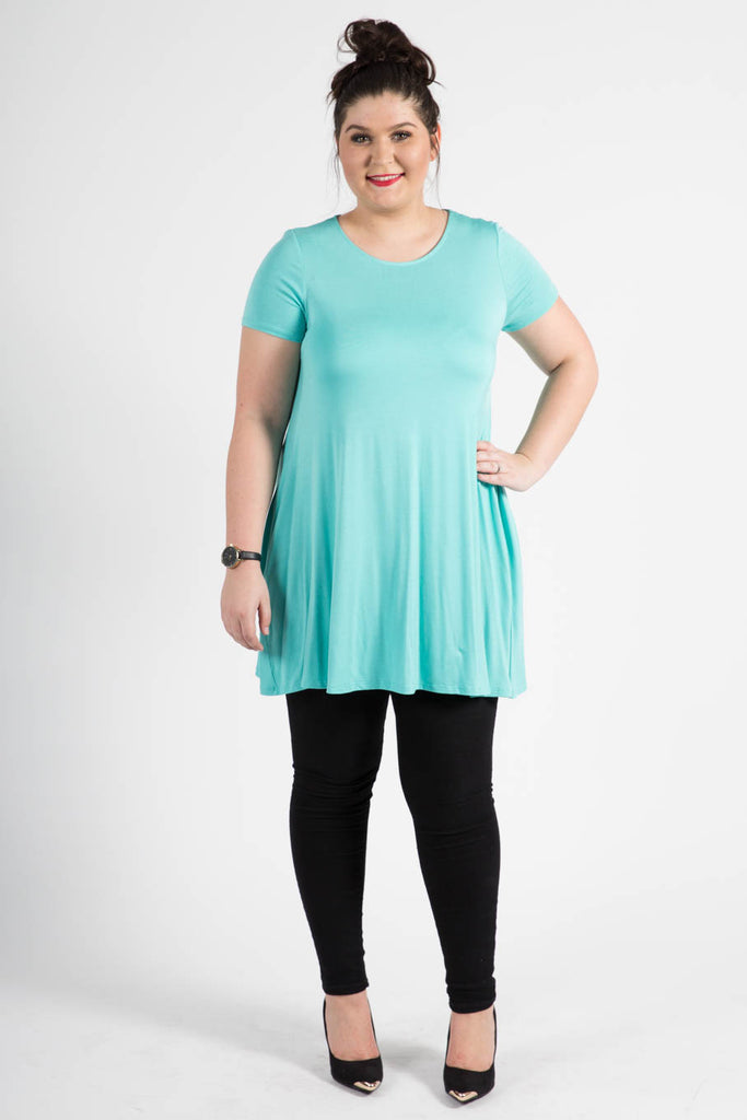 Swing Tunic Seafoam