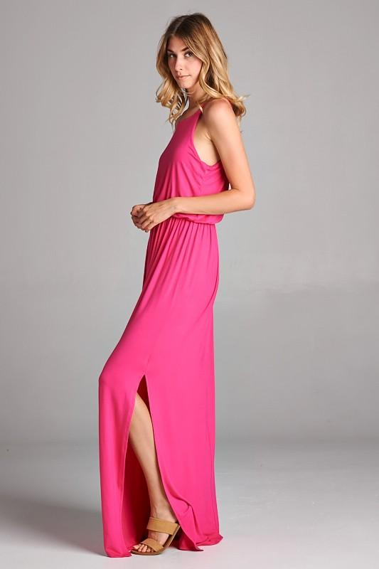 Simply Beautiful Maxi Dress in Pink