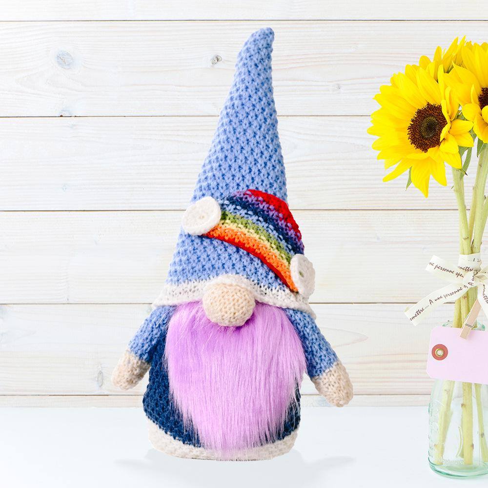 PREORDER * Crocheted Rainbow Gnomes