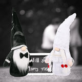 PREORDER * Wedding Bride Groom Gnomes