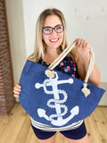 Anchors Away Beach Bag