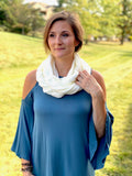 My Must Have Infinity Scarf in Ivory