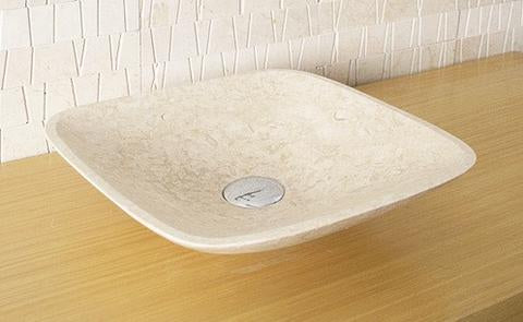 Stone above counter Pompana 420 basin