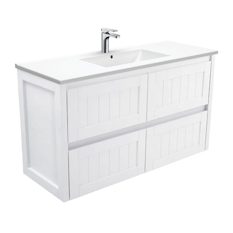 1200mm colonial Wallhung vanity