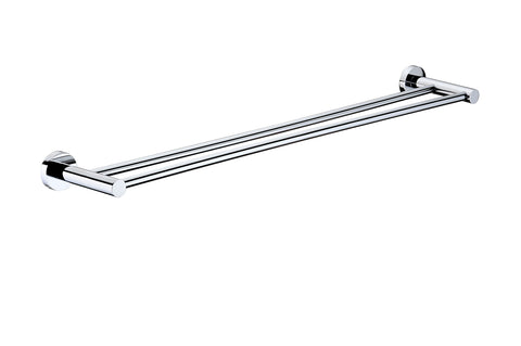 Double towel rack 600mm MIR48